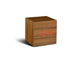 gingko-cube-click-clock-teak-red-mini