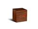 gingko-cube-click-clock-walnut-red-mini