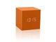 gingko-gravity-cube-click-clock-orange-mini
