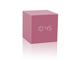 gingko-gravity-cube-click-clock-pink-mini