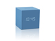 gingko-gravity-cube-click-clock-skyblue-mini