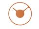 time_wall_clock_orange_mini